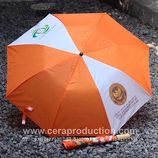 Contoh Corporate gift Payung Promosi Kementerian Agraria