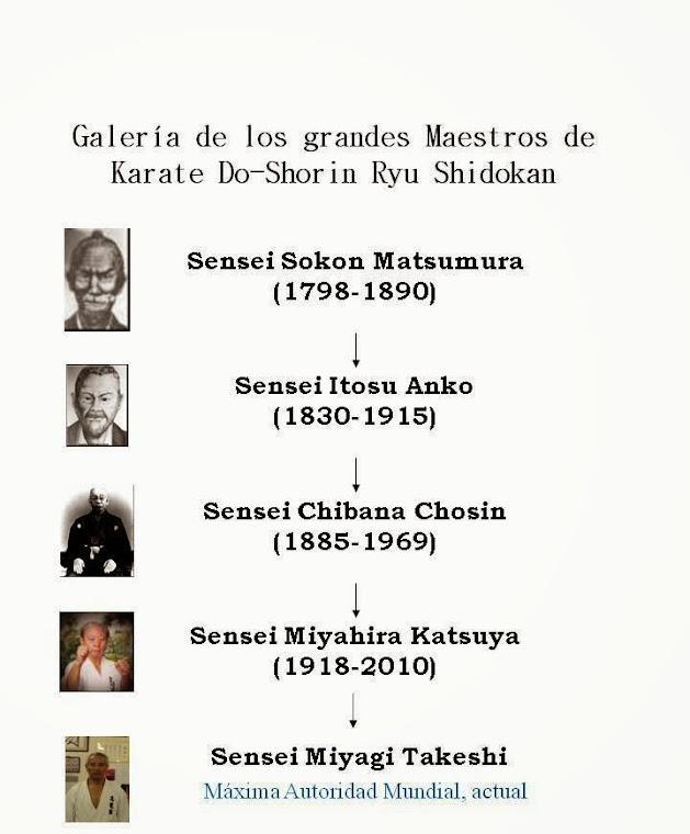KARATE SHIDOKAN: GRANDES MAESTROS