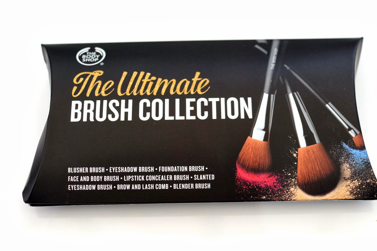 the body shop ultimate brush collection
