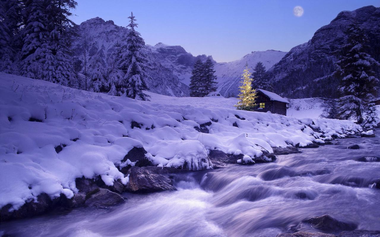 winter wonderland wallpaper for computer free download