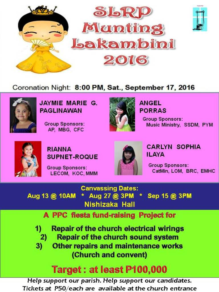 Munting Lakambini Fund Raising Project