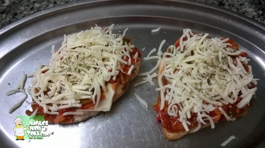 Pechuga de Pollo a la Pizza