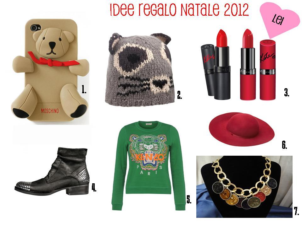 Satisfashiontheblog natale 2012 idee regalo per lei e per lui for Regali semplici per un ragazzo