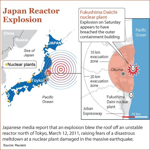 fukushima daiichi nuclear disaster case study Video shows the spread of radiation from the fukushima/daiichi nuclear power plant, the worst disaster in history music by: michael st john.