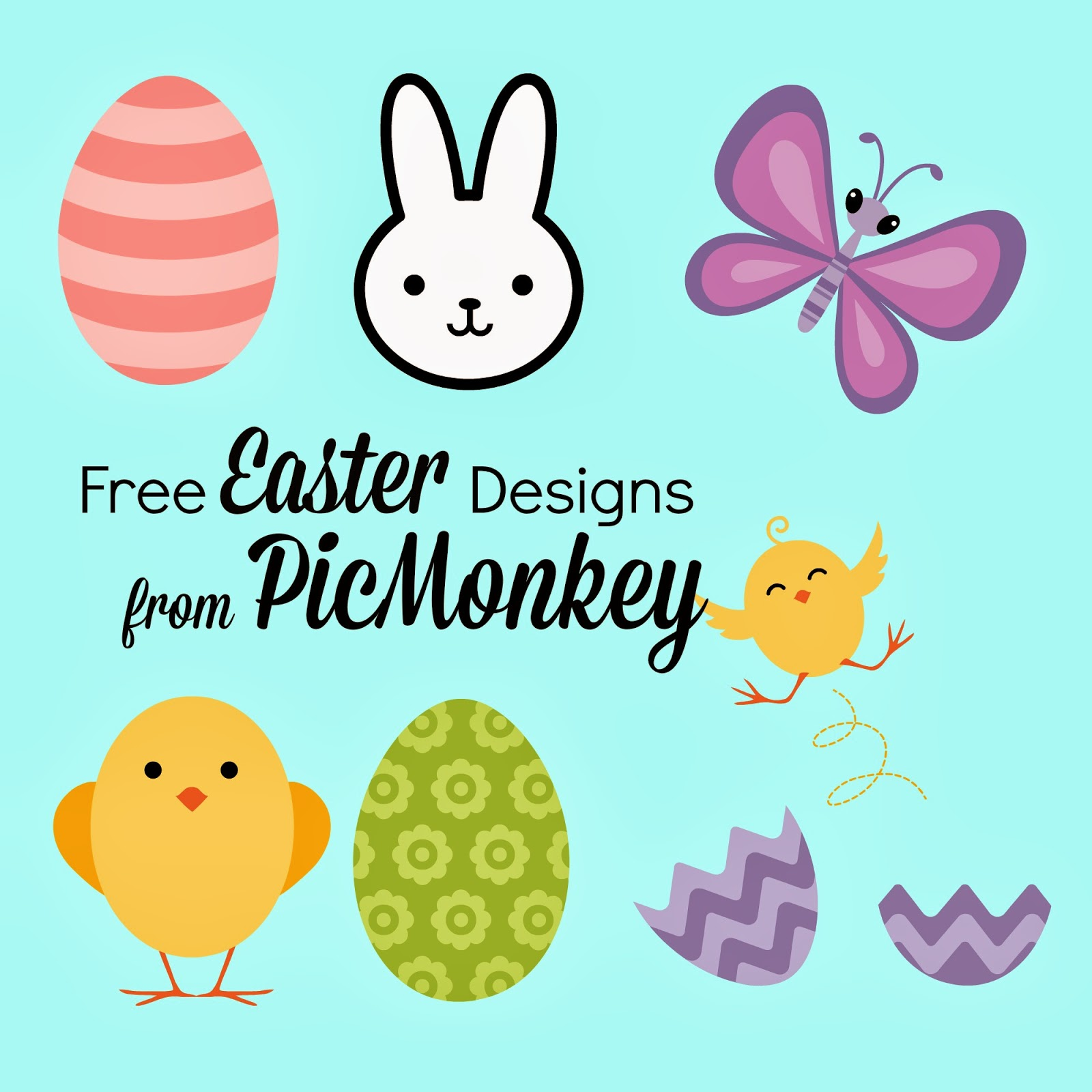 Wonderful Easter Font, Designs, Free, Silhouette Friendly