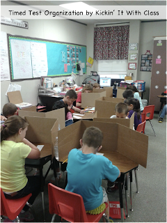 picture of students taking timed tests