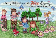 Magnolia-licious & Wee Stamp Challenge Blog