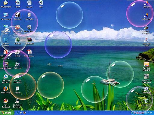 Protector de pantalla con burbujas en movimiento gratis - Imagui