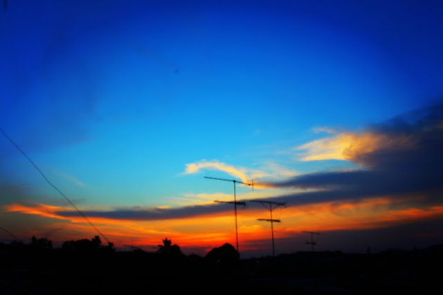 Kumpulan Foto Sunset Atau Senja Dengan Kamera Canon