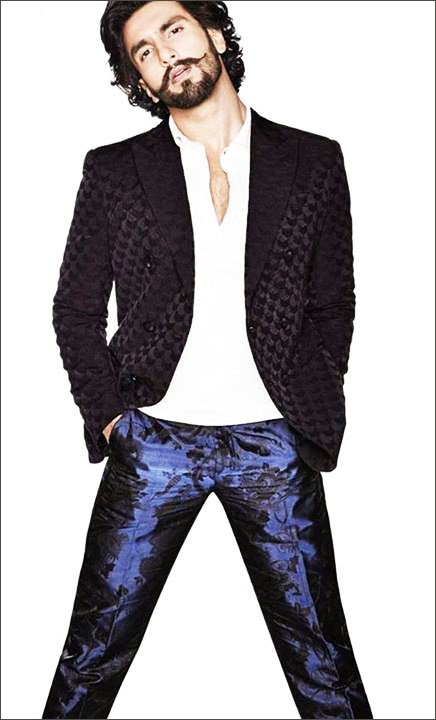 Ranveer Singh's Latest Photoshoot for Harper's Bazaar