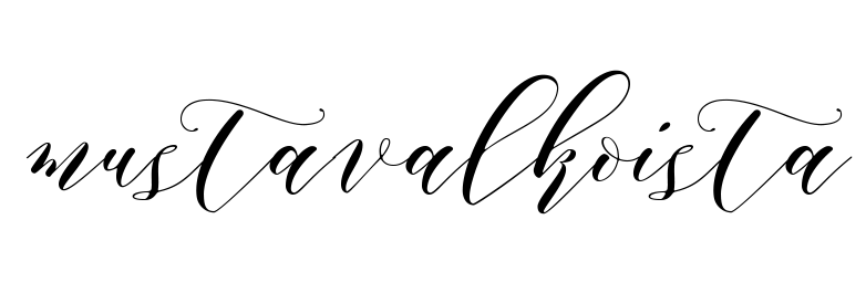 MUSTAVALKOISTA