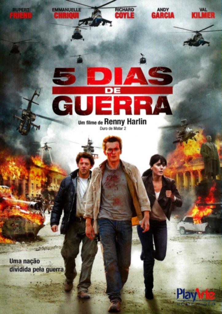 5 Dias de Guerra – HD 720p