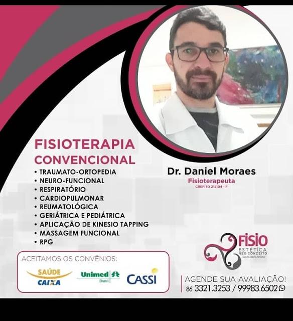 FISIOTERAPEUTA CONVENCIONAL - Dr. Daniel Moraes