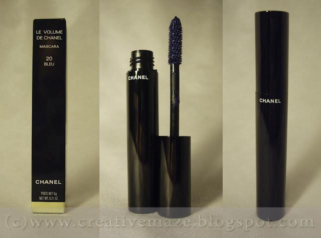 тушь Le Volume de Chanel 2013 оттенок 20 bleu отзыв
