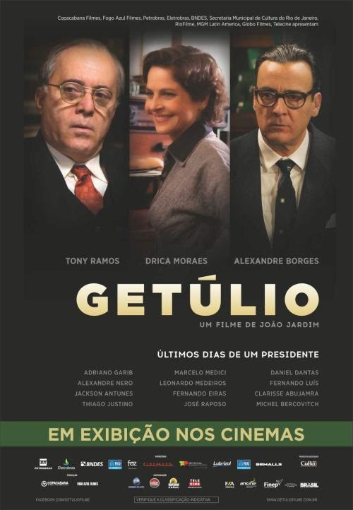 Cartaz #Getúlio