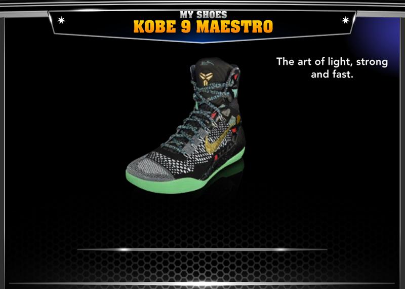 Nike Kobe Bryant 9 Elite Maestro