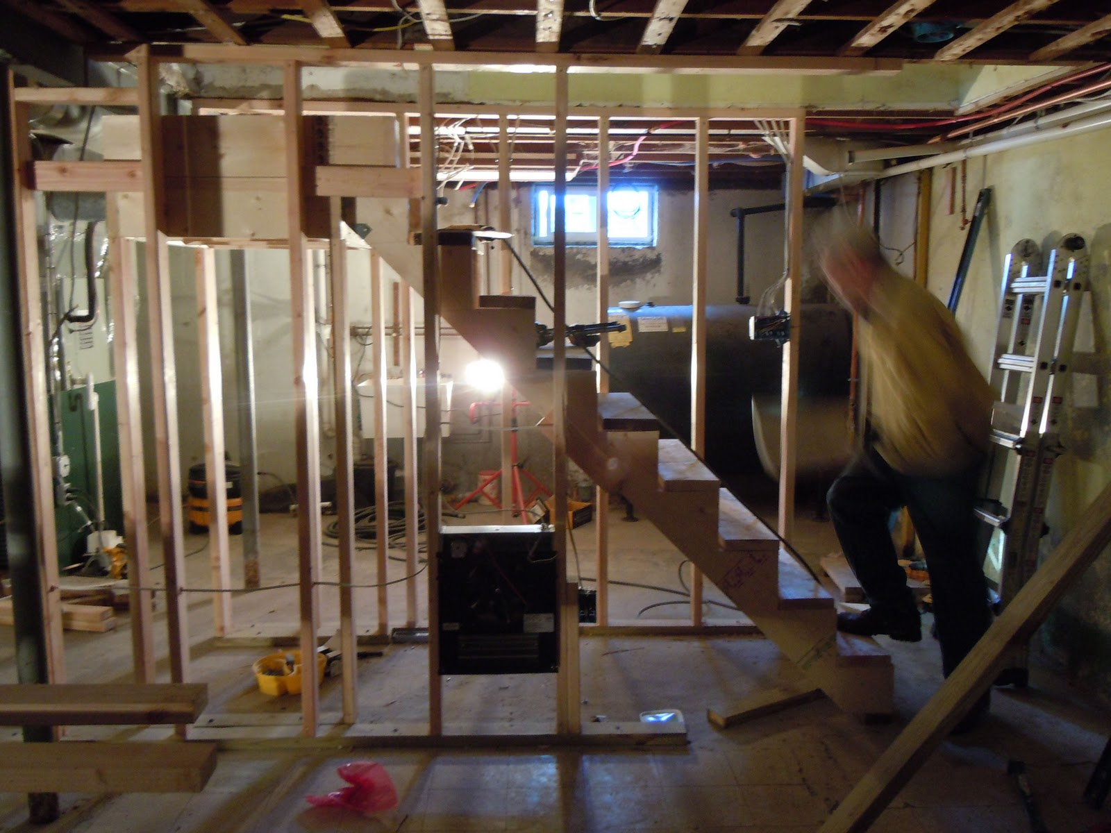 in a basement wood that touches the concrete slab or walls needs to