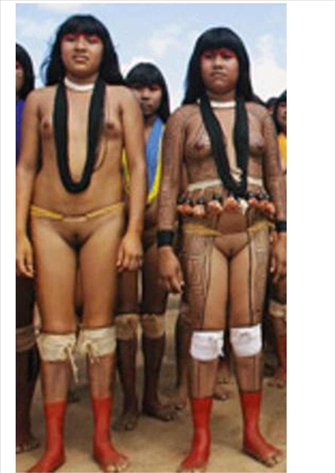 Pic of amazon tribe pussy sex photo