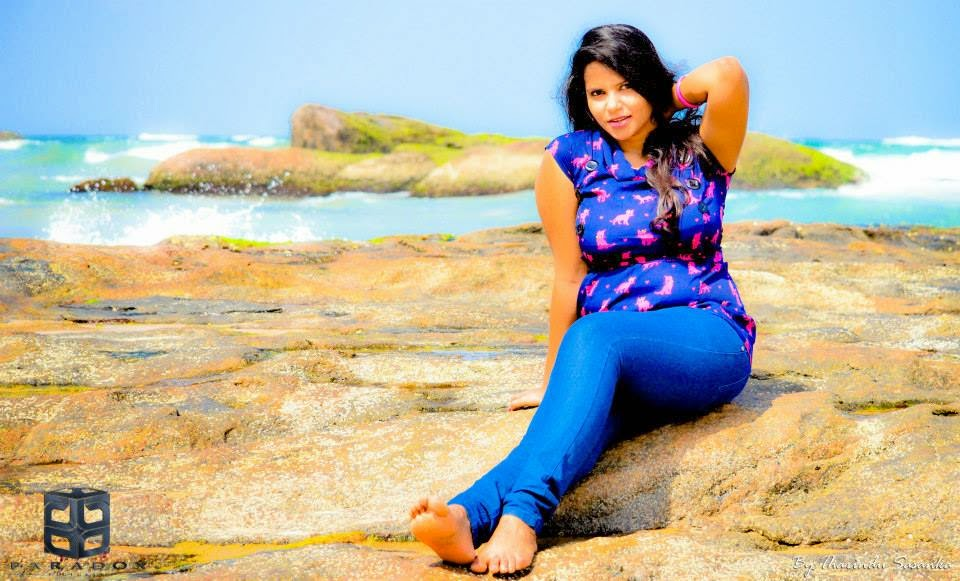 Uthpala Madhushanie blue