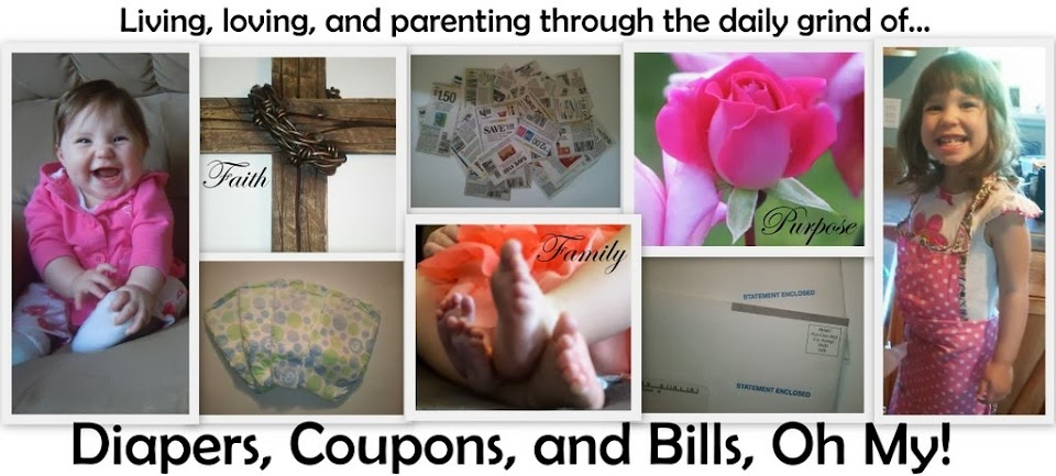 Diapers, Coupons, and Bills, Oh My!
