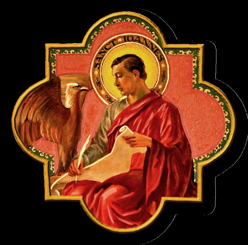 Heiligen Johannes der Evangelist title=