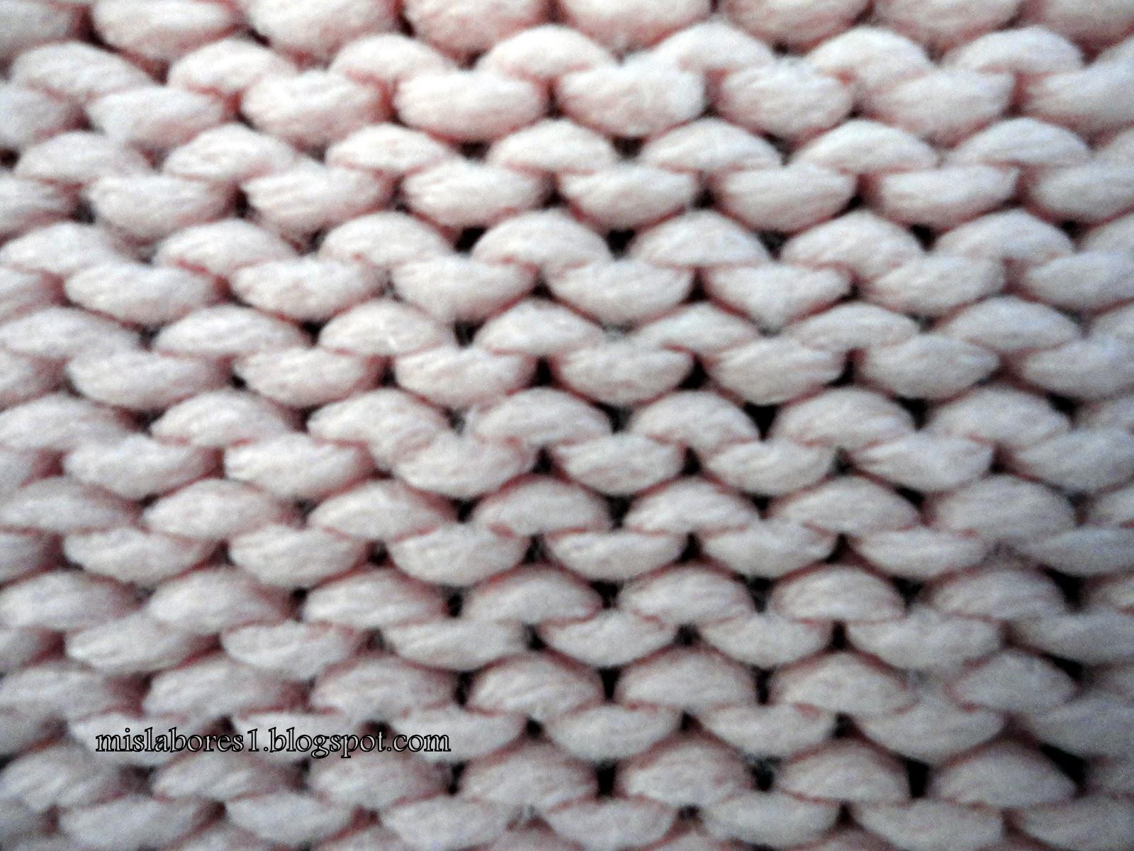 Mis labores octubre 2012 - Labores de punto de lana ...