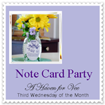 NOTE CARD PARTY - APRIL