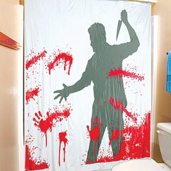 Cortina De Baño Funny World:Serial Killer Shower Curtain