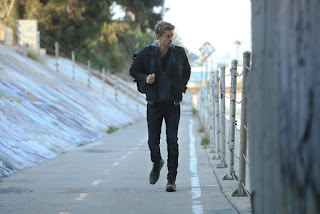 Lincoln on the run, from Agents of SHIELD Season 3 Episode 3