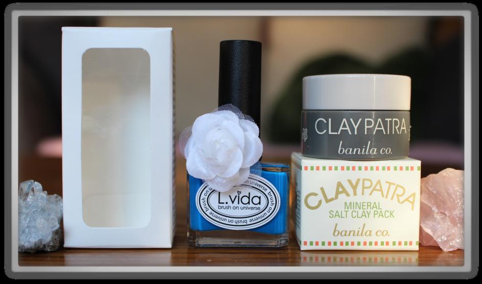 겟잇뷰티박스 by 미미박스 memebox beautybox Global #12 unboxing review preview box l vide nail polish passion blue banila co claypatra mineral salt clay pack