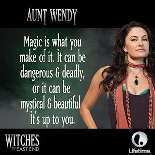 Aunt Wendy from Witches of East End
