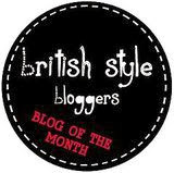 British Style Bloggers – Blog of the Month Dec 13