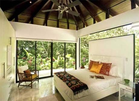 natural bedroom by Robles Architects