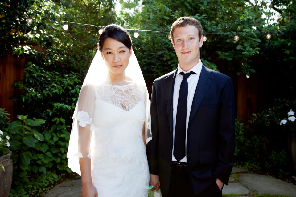 mark zuckerberg marriage