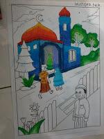 hasil karya dari sang ustadz TPA Masjid Quwwatul Muslimin Sambisari