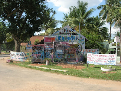 Baadal Nanjundaswamy painting graffity work in mysore kukkarahalli kere
