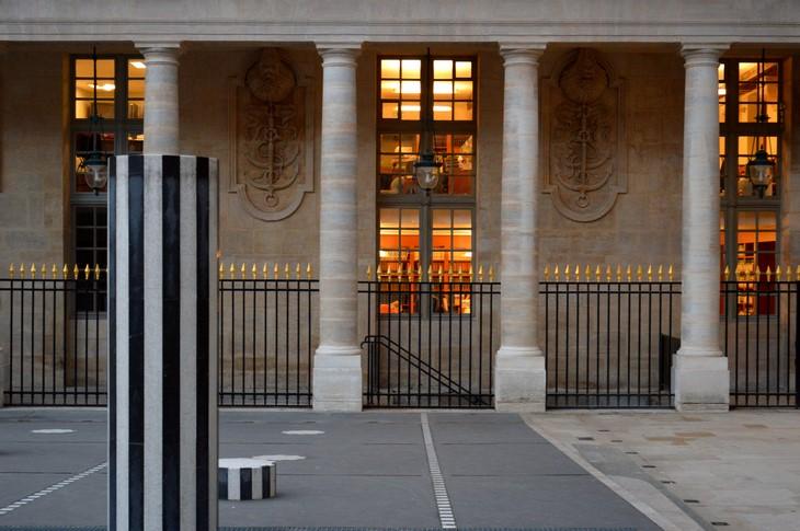 Jardin du Palais Royal - Colonnes de Buren