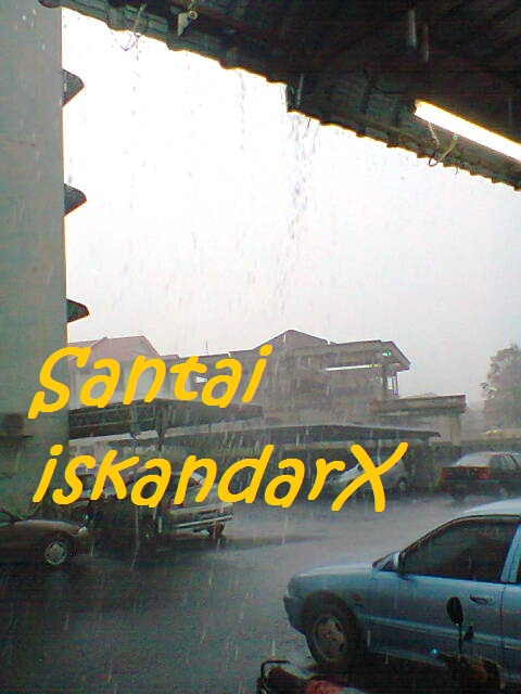 iskandarx.blogspot.com, Suasana di kedai serta flat ijau Balik Pulau, santai, Flat ijau, balik pulau