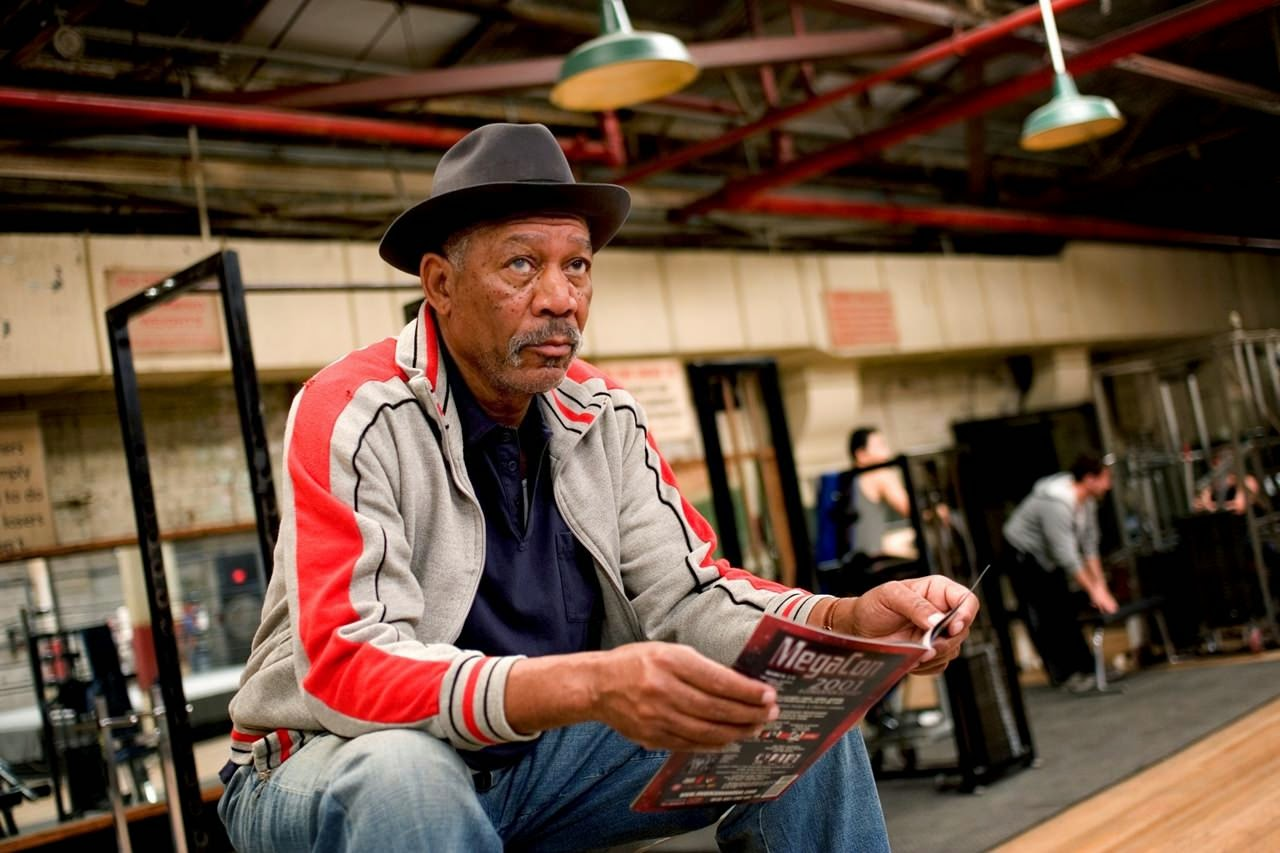 million dollar baby morgan freeman