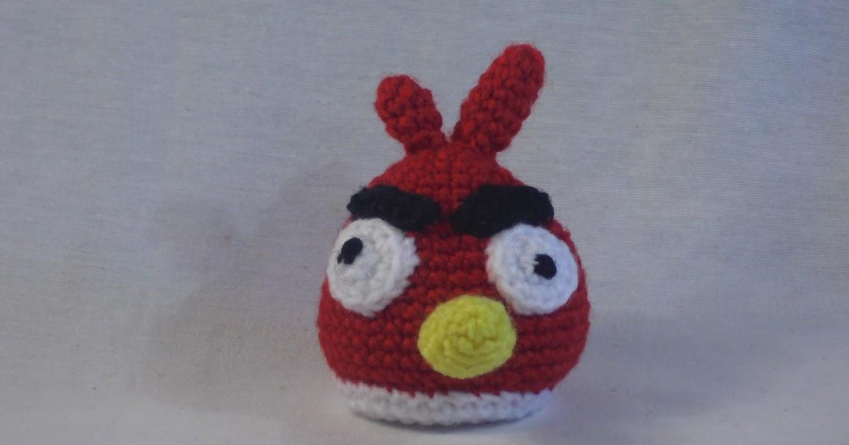amigurumis en espa ol angry bird rojo amigurumi. Black Bedroom Furniture Sets. Home Design Ideas