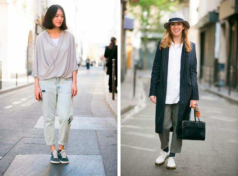 PARIS STREET STYLE: SPRING LOOKS-