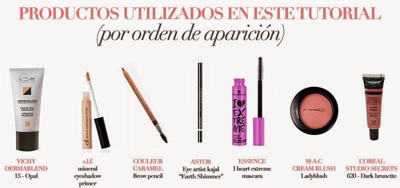Productos para un maquillaje diario rápido y fácil