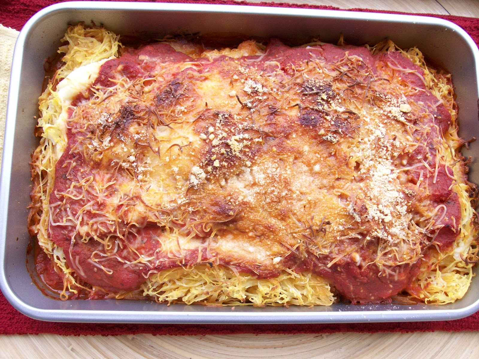 ... Street Health and Wellness: What's New: Spaghetti Squash Lasagna