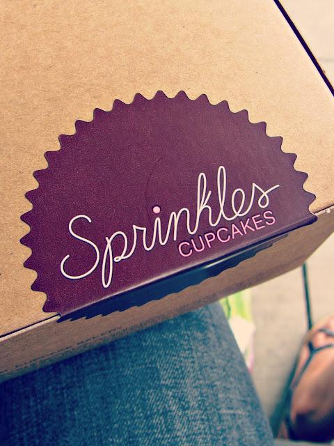 Sprinkles Cupcakes- Logo on Box