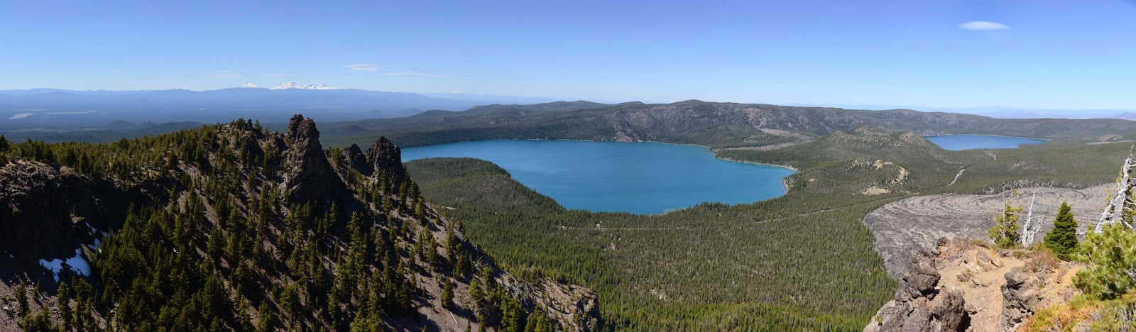 From Paulina Peak - Deschutes National Forest - Oregon