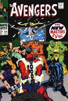 Avengers #54 cover