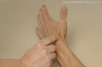 Анатомическая табакерка.