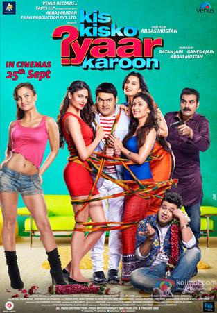 Kis Kisko Pyaar Karu 2015 Hindi DVDScr 700mb