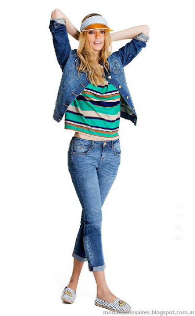 Portsaid jeans moda primavera verano 2014.
