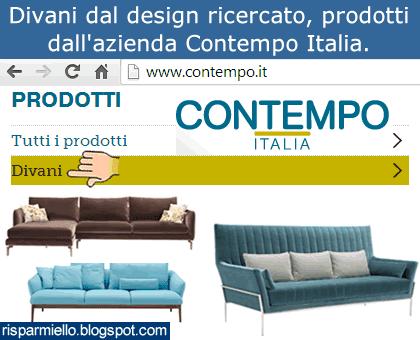 risparmiello divani contempo italia